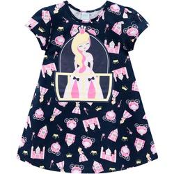Camisola Kyly Infantil Feminina Princesa - 66236 - Nilza Baby Kids