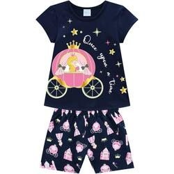 Pijama Kyly Infantil Feminino Princesa - 66237 - Nilza Baby Kids