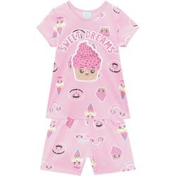 Pijama Kyly Bebê Feminino Estampa Cupcake - Brilha... - Nilza Baby Kids