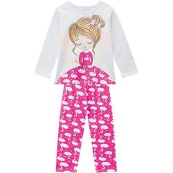 Pijama Manga Longa Kyly Infantil Feminino Tamanho ... - Nilza Baby Kids
