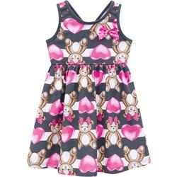 Vestido Kyly Bebê Feminino Estampa de Ursinho - 66... - Nilza Baby Kids