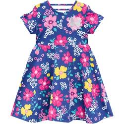 Vestido Kyly Infantil Feminino Estampa Floral com ... - Nilza Baby Kids