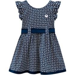 Vestido Milon Bebê Azul Marinho Tamanho 1 ao 3 - 6... - Nilza Baby Kids
