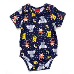 Body Kyly Bebê Masculino - 63051-Am - Nilza Baby Kids