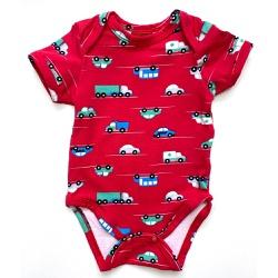 Body Kyly Bebê Masculino - 63051-V - Nilza Baby Kids