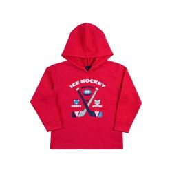 Camiseta Manga Longa Dila Bebê Masculina Vermelha ... - Nilza Baby Kids