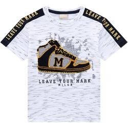 Camiseta Milon Infantil Masculina Bordada - 66034 - Nilza Baby Kids