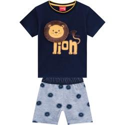 Conjunto Kyly Bebê Masculino Leãozinho - 66238-A - Nilza Baby Kids