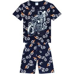 Pijama Kyly Bebê Masculino Camiseta Estampa Astron... - Nilza Baby Kids