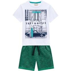 Conjunto Milon Bebê Masculino Camiseta Estampada +... - Nilza Baby Kids
