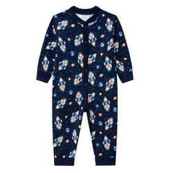 Pijama Macacão Kyly Bebê Masculino Tamanho P-M-G -... - Nilza Baby Kids