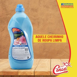 Amaciante Floral Azul Cenap 2l - 7 - NORONHA PRODUTOS QUÍMICOS