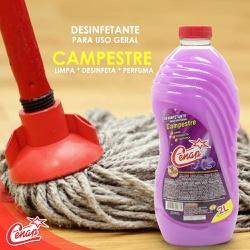 Desinfetante Campestre Cenap 2l - 76 - NORONHA PRODUTOS QUÍMICOS