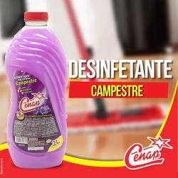 Desinfetante Campestre Cenap 6x2l Loja - 1451 - NORONHA PRODUTOS QUÍMICOS