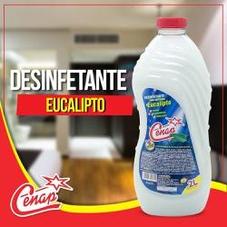 Desinfetante Eucalipto Cenap 2l - 64 - NORONHA PRODUTOS QUÍMICOS