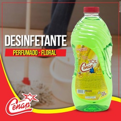 Desinfetante Floral Cenap 2l Loja - 65 - NORONHA PRODUTOS QUÍMICOS