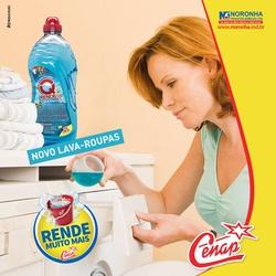 Detergente Lava Roupas Q'rend 6x2l Loja - 2118 - NORONHA PRODUTOS QUÍMICOS