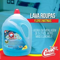 Detergente Lava Roupas Q'rend 5l Loja - 2078 - NORONHA PRODUTOS QUÍMICOS