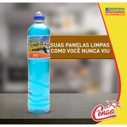 Detergente Limpa Aluminio Cenap 500ml Loja - 67 - NORONHA PRODUTOS QUÍMICOS
