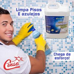 Limpa Pisos e Azulejos Cenap 5l Loja - 1517 - NORONHA PRODUTOS QUÍMICOS