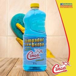 Limpador Com Brilho Blue Cenap 2l - 1544 - NORONHA PRODUTOS QUÍMICOS