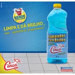 Limpador Com Brilho Cenap Blue 6x2l Loja - 1459 - NORONHA PRODUTOS QUÍMICOS