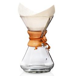 Passador de Café Chemex com Alça de Madeira 6 Xíca... - NOSTRO SOLO