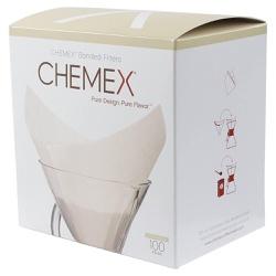 Filtro Chemex - Quadrado - Pré-dobrado - 100 Unida... - NOSTRO SOLO