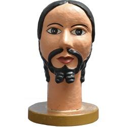 Escultura de Cabeça II - Papel Mache - 2100002019... - OFICINADEAGOSTO