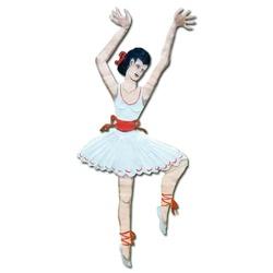 Espeto de Jardim - Bailarina - MG202124 - OFICINADEAGOSTO