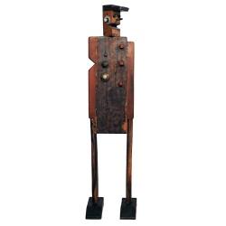 Escultura Grande de Robô - DBV5976 - OFICINADEAGOSTO