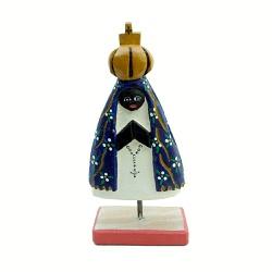 Escultura de Nossa Senhora na Base - DBV0000 - OFICINADEAGOSTO