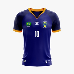REF: UBCBDU 2019/1 - Camisa Futebol UBRASIL CBDU 2019 - ONZA