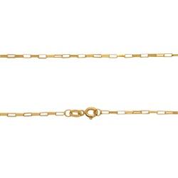 Corrente Cartier em Ouro 18k - OV/9398-1.60 - Ouro Vale Joias