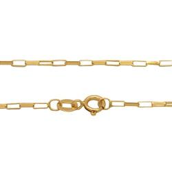 Corrente Cartier em Ouro 18k - OV/9398.60 - Ouro Vale Joias