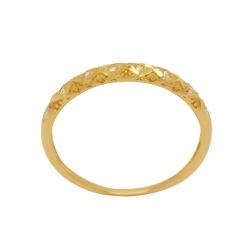 Anel Aparador em Ouro 18k - OV/AN17042 - Ouro Vale Joias