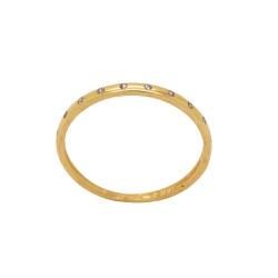 Anel Aparador em Ouro 18k - OV/AN19705-1 - Ouro Vale Joias