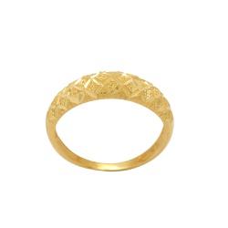 Anel Diamantado Ouro 18K - OV/AN20165-2 - Ouro Vale Joias
