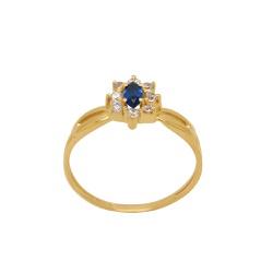 Anel de Formatura em Ouro 18k - OV/AN19732-12 - Ouro Vale Joias