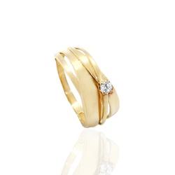 Anel Exclusivo em Ouro 18k Feminino - OV/AN643-1 - Ouro Vale Joias