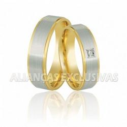 Alianças Anatômicas Bodas de Ouro 18K - OV/350 - Ouro Vale Joias