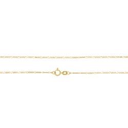 Corrente Groumet 3x1 em Ouro 18k - OV/CO10901.45 - Ouro Vale Joias