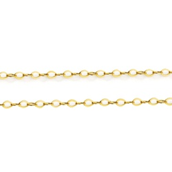 Corrente Americana em Ouro 18k - OV/CO19198 - Ouro Vale Joias