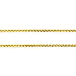 Corrente Piastrine Batida em Ouro 18k - OV/CO448-2 - Ouro Vale Joias