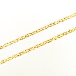 Corrente Piastrine Maciça em Ouro 18k - OV/CO819-1 - Ouro Vale Joias