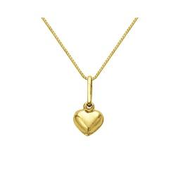 Gargantilha com Coração em Ouro 18k - OV/8618.40-... - Ouro Vale Joias