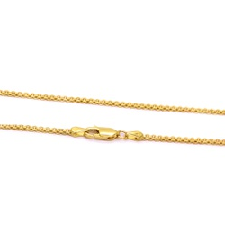 Corrente Bismark em Ouro 18k - OV/CO9217.45 - Ouro Vale Joias