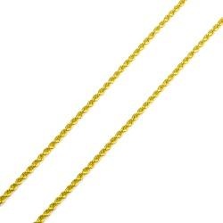 Cordão Maciço em Ouro 18k - OV/CO411-2 - Ouro Vale Joias