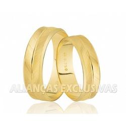 Alianças Personalizadas e Diamantadas em Ouro 18k ... - Ouro Vale Joias