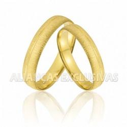 Aliança Anatômica para Casamento em Ouro 18K - OV... - Ouro Vale Joias